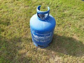 15Kg Blue Butane Calor Gas Bottle - part filled