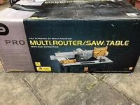 Multi Router Saw Table
