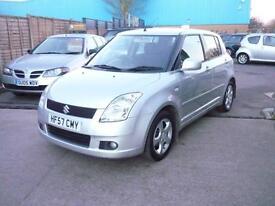 Suzuki Swift Ddis 5dr (silver) 2007