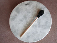 """'Remo' Buffalo drum 16"""" x 3.1/2"""" Brand New in box (present never used)"""