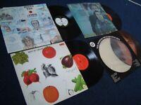 4 x VINYL RECORDS = £15 ono , john lennon neil dianond simon garfunkel best of cream