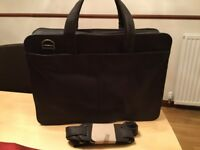 Leather briefcase (new)