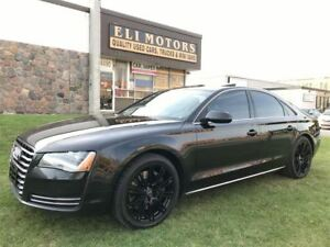 2011 Audi A8 PREMIUM PKG. V8-4.2L NAVIGATION. BLUETOOTH. REAR V