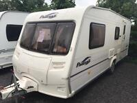 Bailey pageant champagne 2006 4 berth with motor mover touring caravan