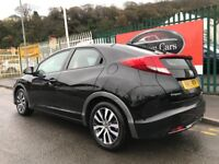2013 (13 reg) Honda Civic 1.6 i DTEC EX Hatchback 5dr Turbo Diesel Hatchback