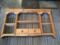 Solid Pine Wall Unit
