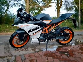 KTM RC 390, A2 Compliant, 1 Owner From New