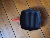 Le Creuset Red Griddle Pan