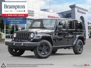 2015 Jeep Wrangler UNLIMITED SAHARA 4X4 | AUTO | TRADE-IN | 6.5