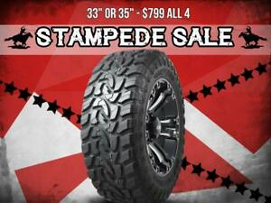 CALGARY STAMPEDE SALE  MUD TERRAINS 10 Ply - $799 All 4 for 33 or 35