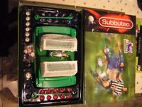 Subbuteo table football game