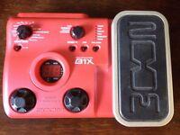 Zoom B1X bass fx pedal