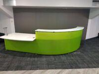 office furniture fantastic reception unit