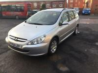 2004 PEUGEOT 307 HDI LOW*MILEAGE