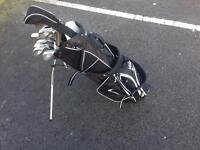 Golf clubs and bag Calloway big bertha irons graphite shafts