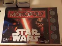 Star Wars Monopoly - Brand new