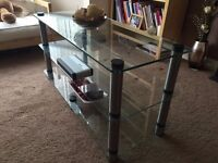 optimum Bespoke 2000 3 Shelf high end TV/audio Stand Retailed at £600 Selling for £50.00