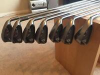 Ping G10 irons 4-PW maroon dot