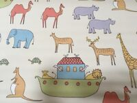 Cute Blackout Blind and Matching Curtains for Child's Room/Nursery