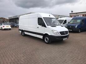 September 2013 mercedes sprinter 313cdi lwb high roof 61000 miles £11995 j&ft&v