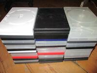50 empty DVD cases - free