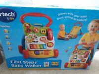 Vtech baby walker with original box