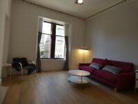 Just completed fully reburbed large one bedroom flat Hillhead, West End