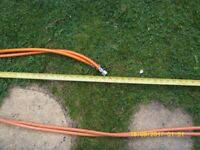 LPG Gas Hose 4 New never been used 2 x 1.4mts and 2 x 3.5mts