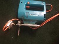 For sale a black and decker jig saw