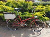 raleigh TWENTY ladies bike