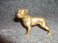 Brass dog