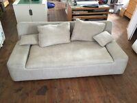 Sofa & Sofa Seat, Grey (Habitat)
