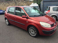renault scenic authentique 1.6 16v (automatic)! 04-plate! 12mths mot! 5 seater mpv!