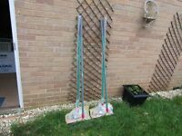 Garden Rakes 2 New and 2 Used