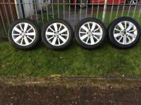 Volkswagen golf caddy passat polo alloy wheels
