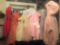 9/12 bundle baby girl clothes