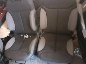 Citroen c2 interior black and Gray