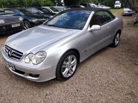Mercedes-Benz CLK 3.0 CLK280 Avantgarde 7G-Tronic 2dr Convertible, Sat Nav,Just serviced, New MOT!!!