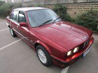 bmw e30 320se auto saloon 1990.. calypso red ,