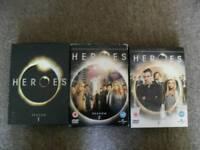 Heroes dvd's