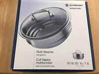 Le Creuset 3ply Stainless Steel Steamer BARGAIN!
