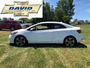 2015 Kia Forte Koup EX COUPE/ KEYLESS/ REAR CAM/ HEAT SEATS/ AC