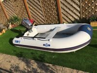 Yam/Yamaha 275s inflatable c/w 4hp Mariner