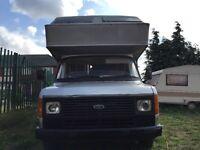 Mk 2 ford transit camper van mot next year