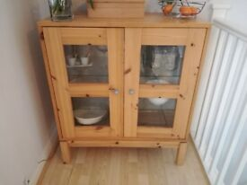 Solid stripped Pine cupboard