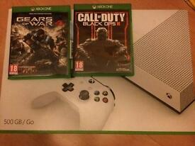 Xbox one s/gears of war 4/black ops 3