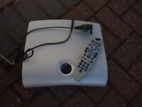 Thomson sky box with viewing card