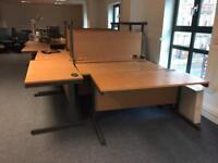 8 x Solid Wood Office Desk - BARGAIN