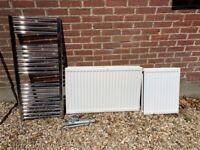 3 x radiators