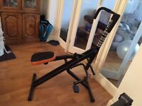 Total Crunch Cardio Fitness Exercise Machine